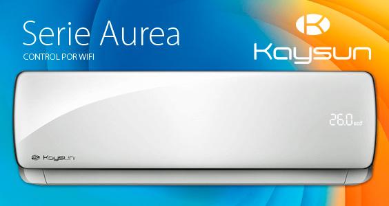 Serie Aurea. Control por Wifi. Kaysun